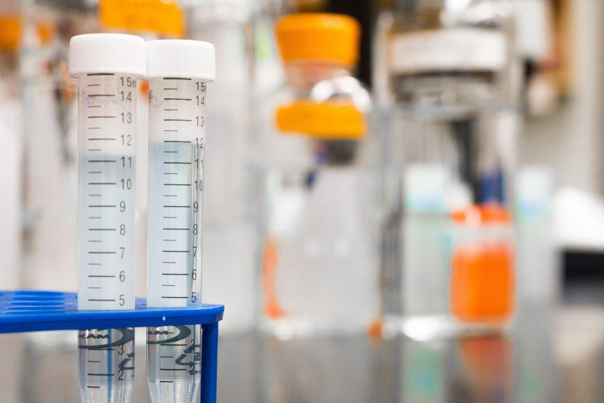 Laboratory Closeup